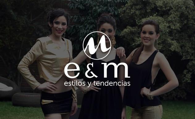 Creación de Página Web EyM Estilos y Tendencias
