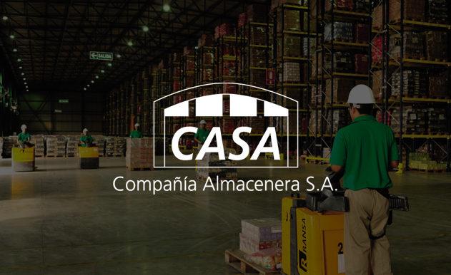 Desarrollo web Compañía Almacenera S.A. (CASA)