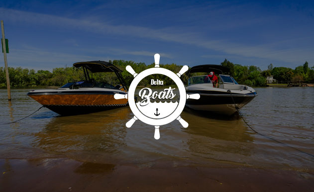 Página web Delta Boats