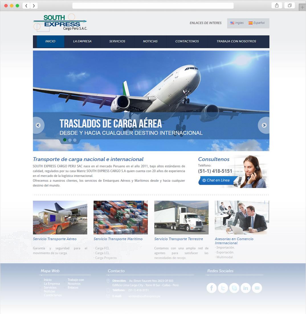 página web southexpress